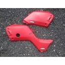 Plastiques des cotés MAIER rouge HONDA TR400 FOREMAN