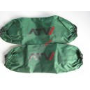 Housses d'amortisseurs ATV WEAR vert yamaha stock grizzley amortisseurs avant