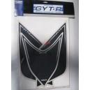 Kit deco GYT-R Yamaha Yfz 450 carbu noir