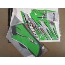 Kit déco ONE DUNCAN RACING vert KFX 400 2003-2004